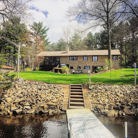 Waterfront home with sunset views - Stevens Point - Casa