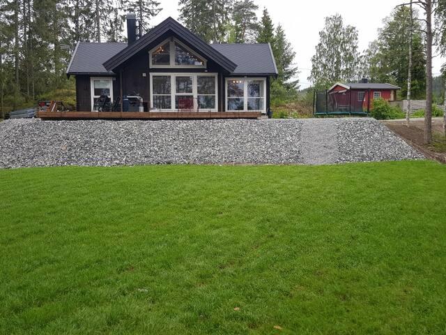 New cabin in beautiful surroundings at the lake