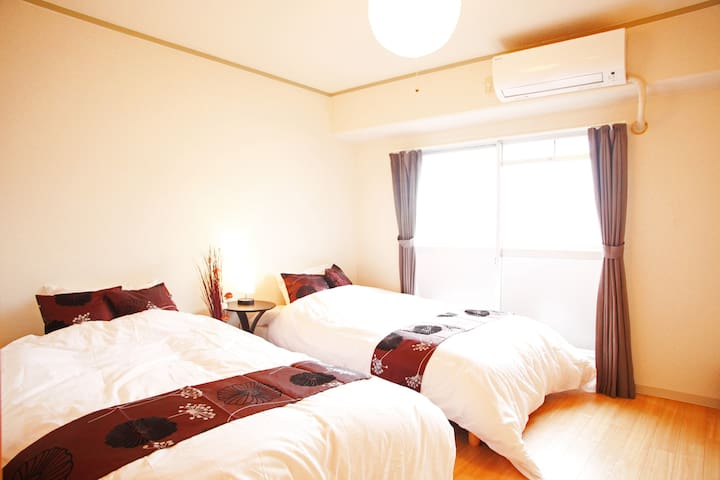 New!★Nanba Sta. 1stop, 2min! Close to Dotonbori! - Naniwa-ku, Ōsaka-shi