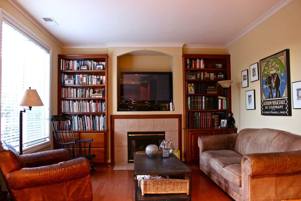 TV Room - Family Games & Books