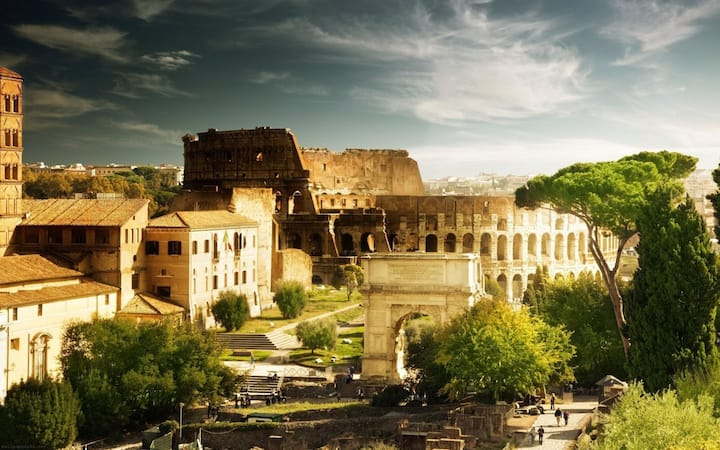 THE GREAT BEAUTY … THE COLOSSEUM (sanitized ozone)