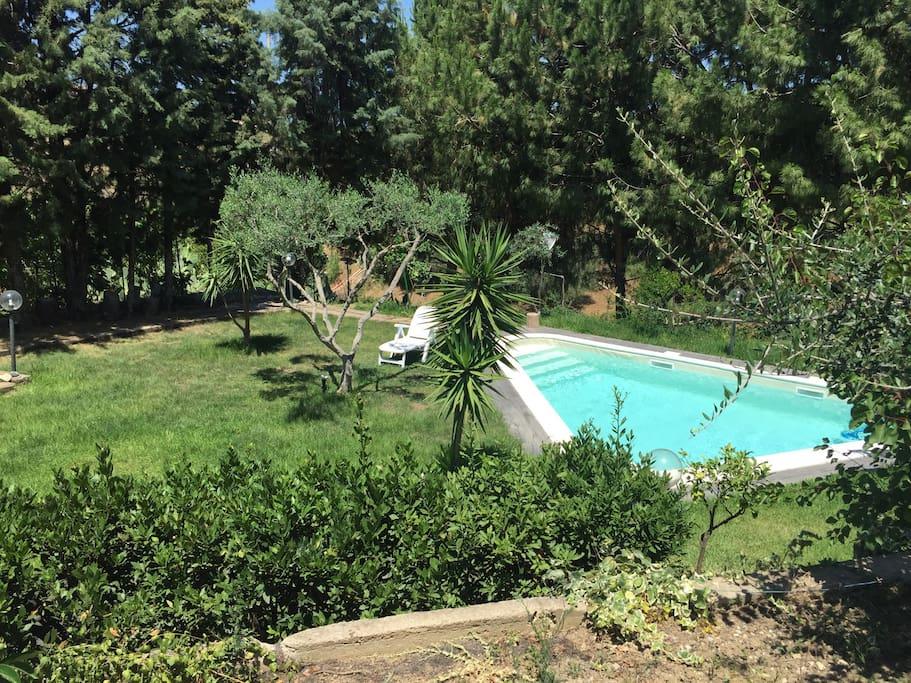 Villa azzurra con piscina tra cefal e palermo ville in affitto a termini imerese sicilia - Piscina termini imerese ...