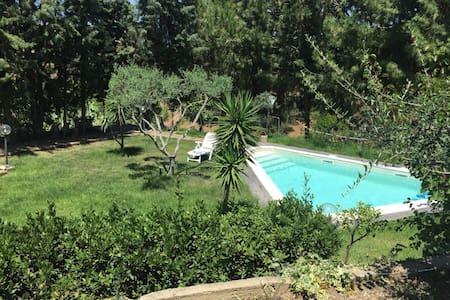 VILLA AZZURRA_ con piscina tra Cefalù e Palermo - Termini Imerese