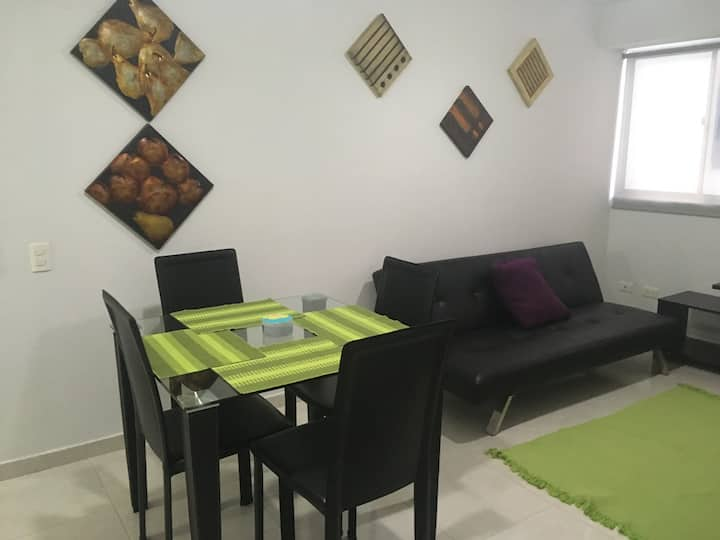 Apartamento acogedor en zona central en B/manga