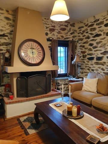 Upper floor Fireplace