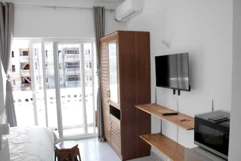 Cute Studio Apartment Fumba Town Wifi & Netflix