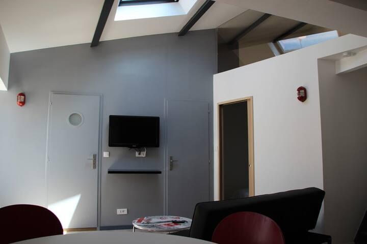 T2 bis hyper centre La Rochelle meublé et équipé - La Rochelle - Apartment