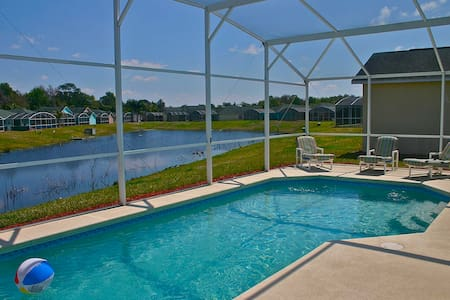 Perfect 5 bed/3 bath pool home 10min from Disney - Haus