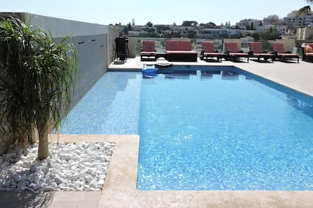 Luxury 3 bed Villa Apt Outdoor & Indoor Heat Pool - Il-Mellieħa - Villa