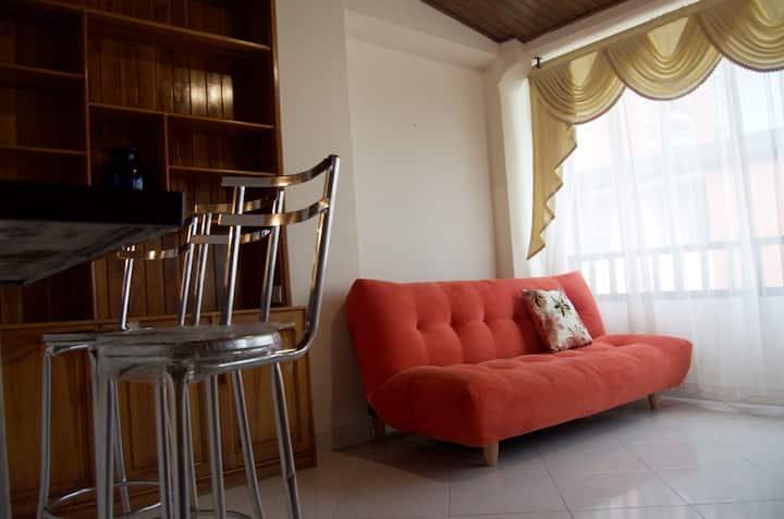 Aparta estudio remodelado en el centro de Pereira