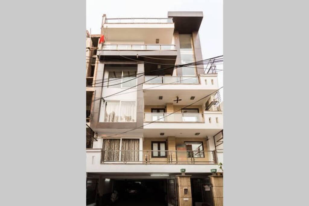 Front Elevation or Building Facade