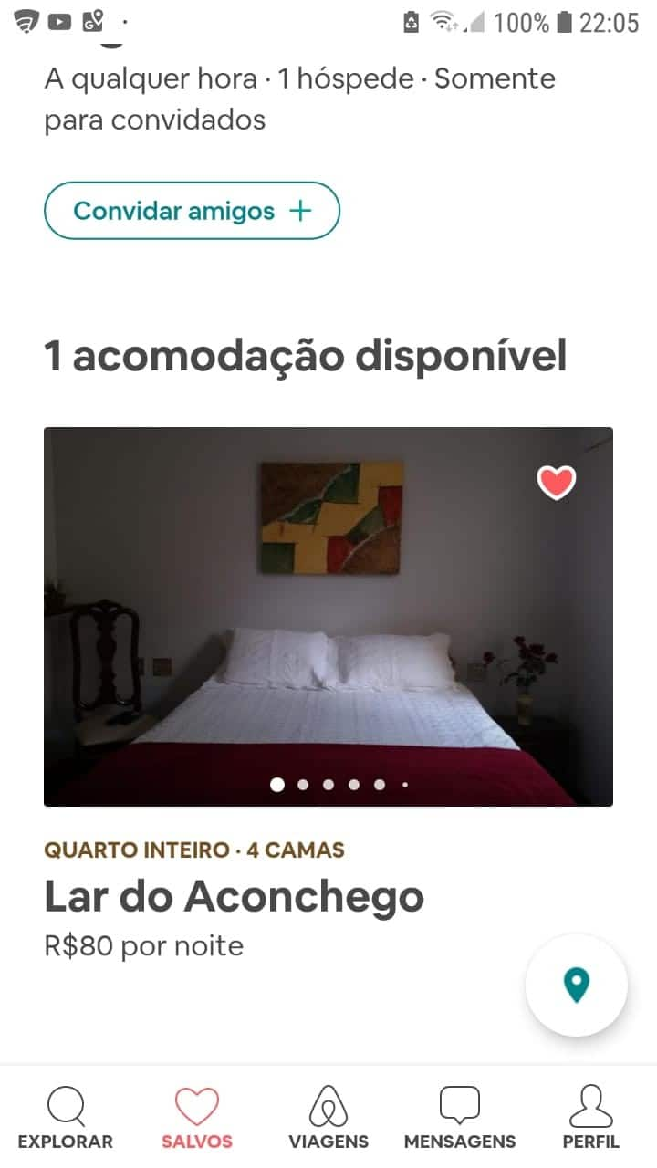 Lar do Aconchego - Suíte principal
