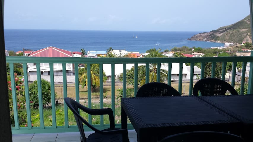 Ravissant T2 magnifique vue mer + Piscine + WIFI