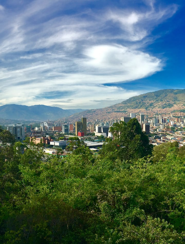 Best city views from Cerro Nutibara