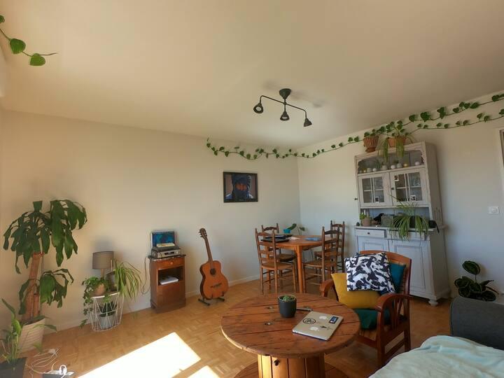 Chambre dans T3 cosy Quartier de l'Erdrez