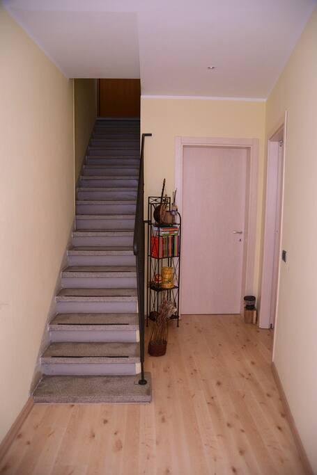 La stanza è al PT - accessibile anche a disabili