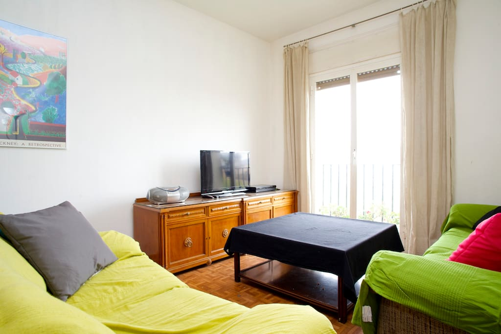 double near ramblas chambres d 39 h tes louer barcelone catalogne espagne. Black Bedroom Furniture Sets. Home Design Ideas