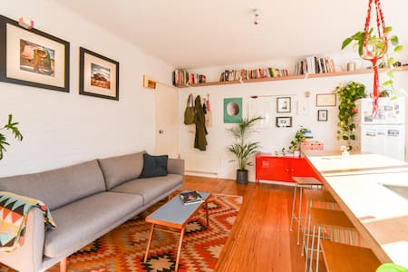 Bright apartment in vibrant Fitzroy - Fitzroy - Apartemen