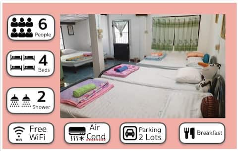 Farmstay Escape Prachinburi 4 senge 2 badeværelser