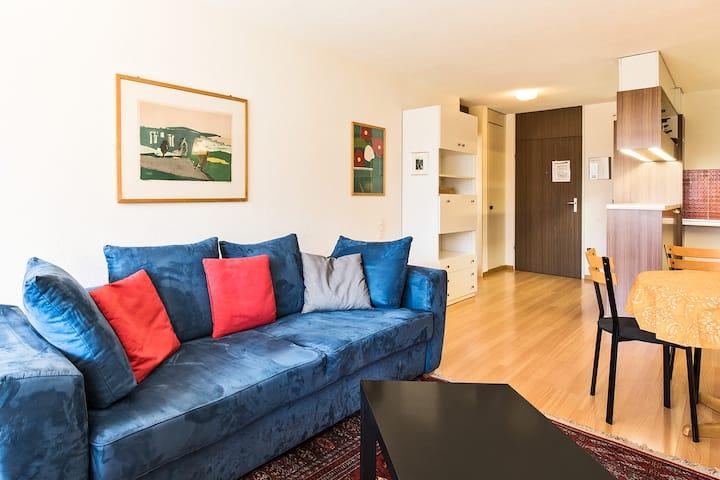 Appartementhaus Quadern, (Valens), 2.5 room apartment A102