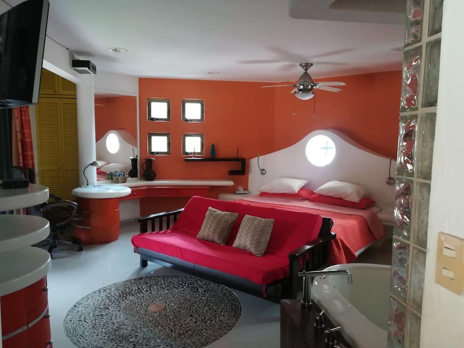 La habitación que usted disfrutaría