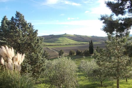 bellissimo panorama toscano - Fauglia