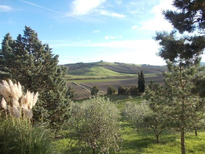 magnificent Tuscan landscape