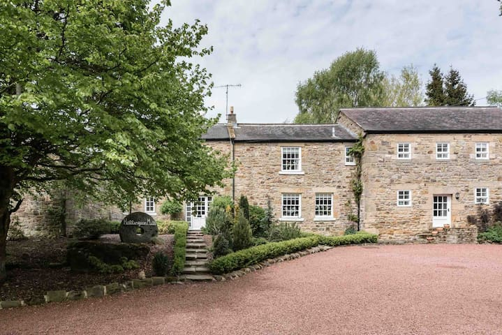 Hallington Mill- Delightful Secluded Rural Retreat