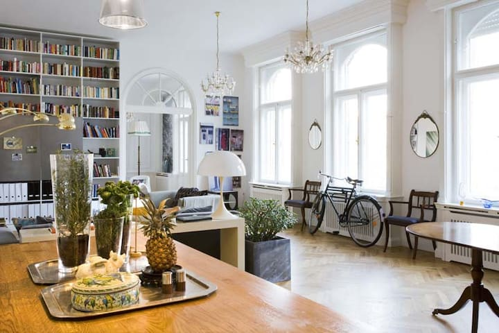 Art Deco style luxury apartment