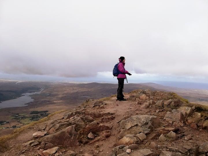 Highest mountain Errigal.