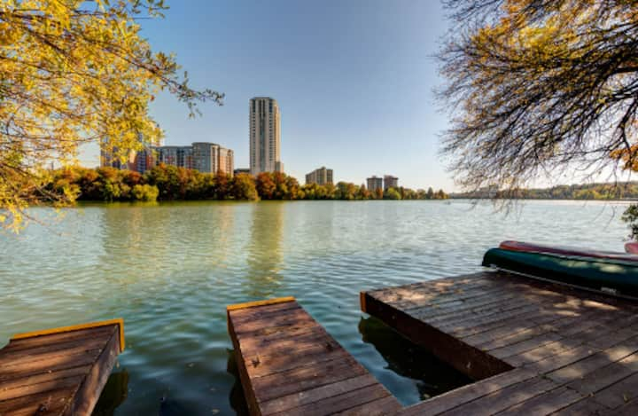 Apartment 1 mile from downtown on Lady Bird lake