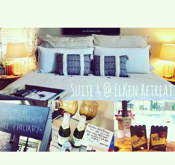 ElKen Retreat B&Bprivate Suite4 $Massage Breakfast