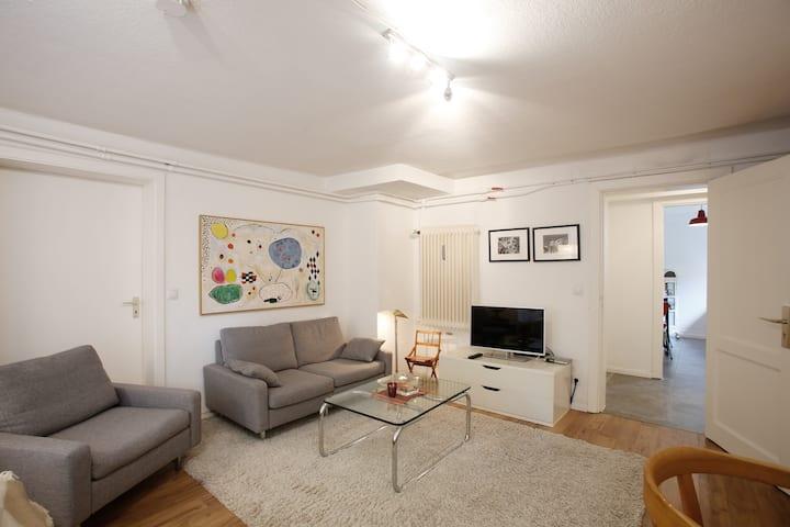 Komfortable 1-Zi-Wohnung in Elbnähe