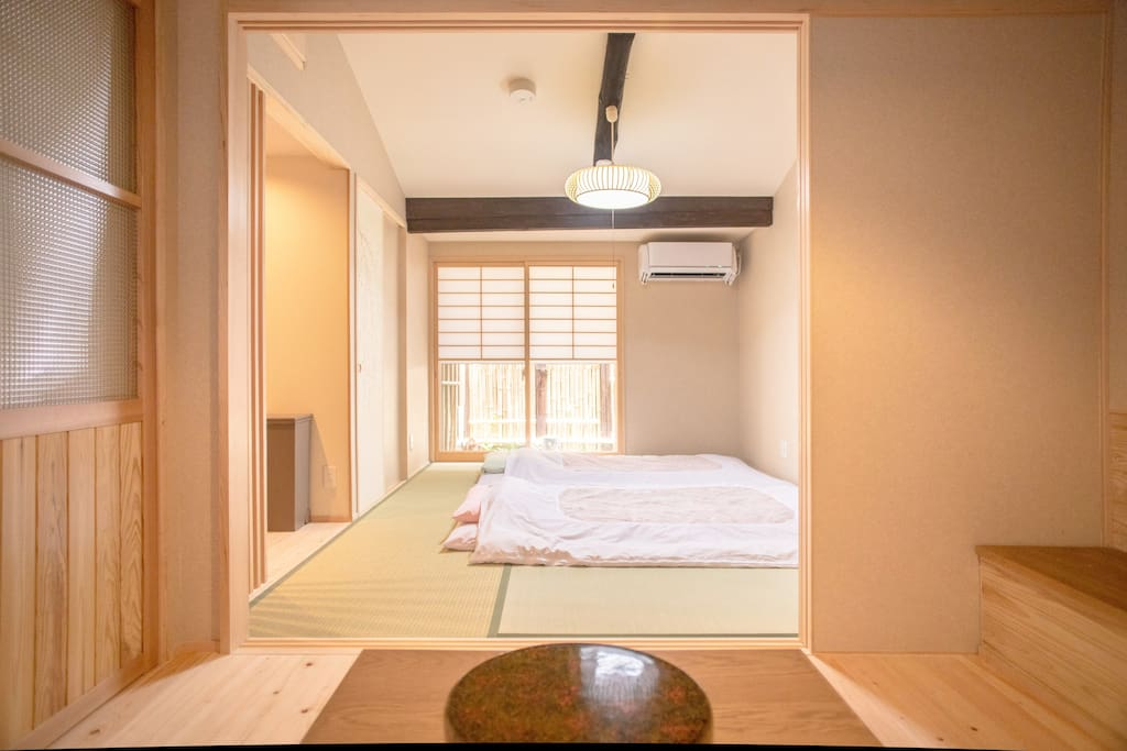 View of the Tatami room