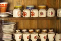 Serve yourself a cup of Cyprus coffee in the traditional cups!!