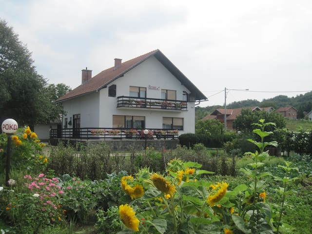 tripple room, private accommodation - Tušilović - Bed & Breakfast