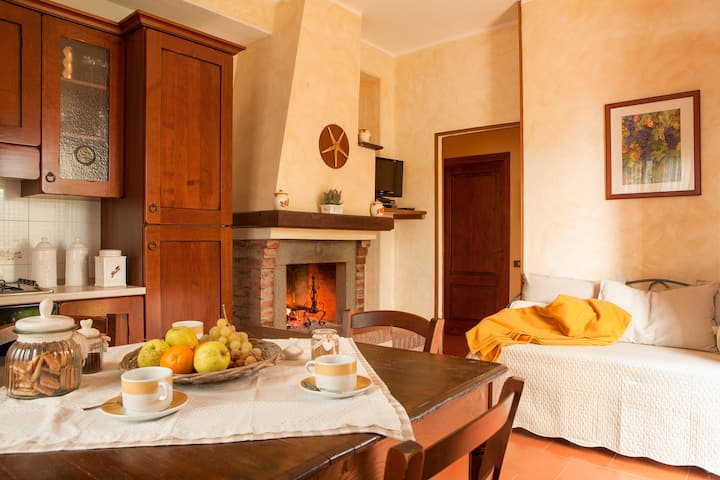 Rosmarino apartment in the countryside