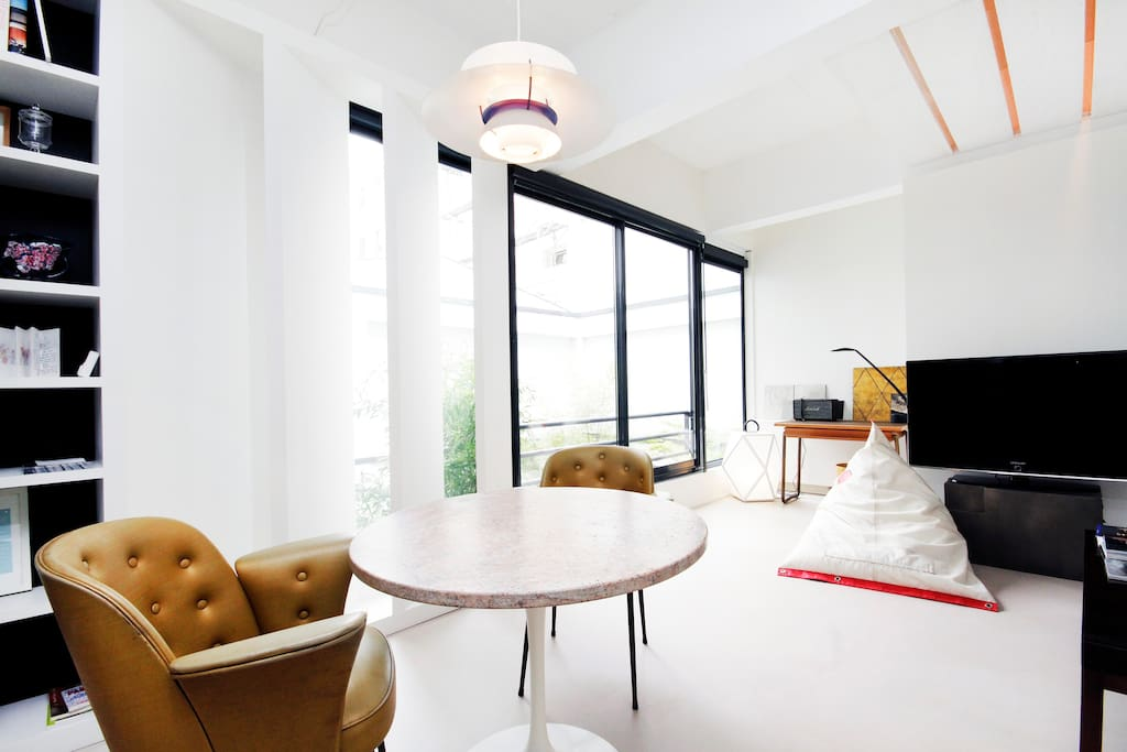 Le nid d 39 un d corateur appartements louer paris - Nid rouge lincroyable appartement paris ...