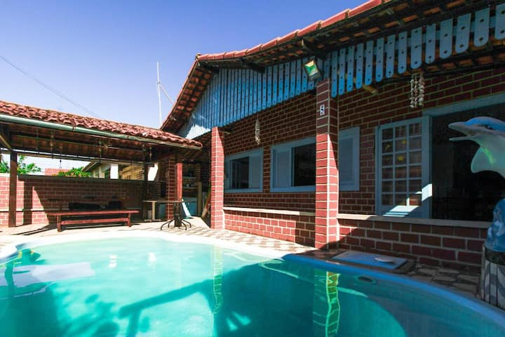Casa c Piscina em Porto de Galinhas com 6 quartos