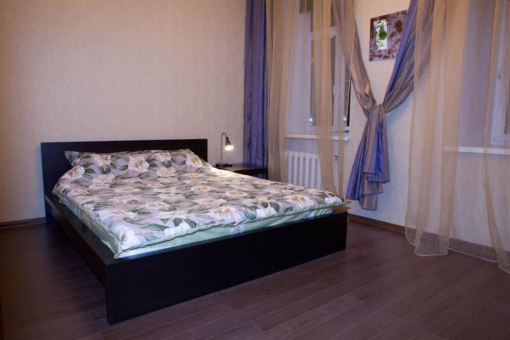 Фреш Хостел на Сухаревской: удобная двухместная комната с двуспальной кровать. От 2500 руб/сут