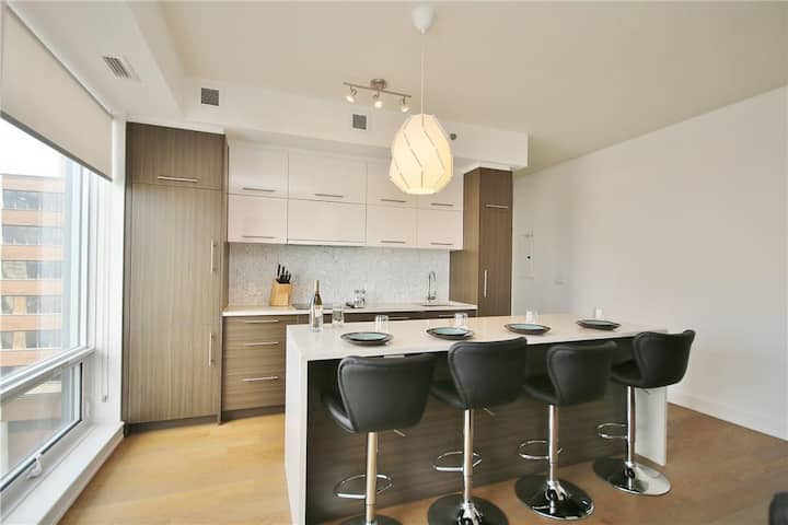 High-end 1 bed condo in downtown Ottawa