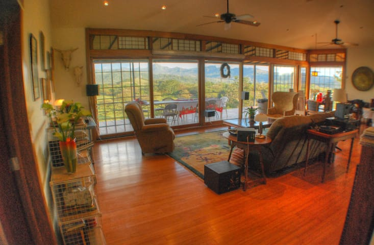 Incredible Mountain View-Private 2Bdrm Suite-Quiet - Boquete,  Caldera - บ้าน