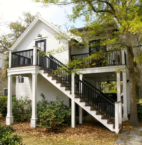 Carriage House suite in Habersham - Beaufort - Huis