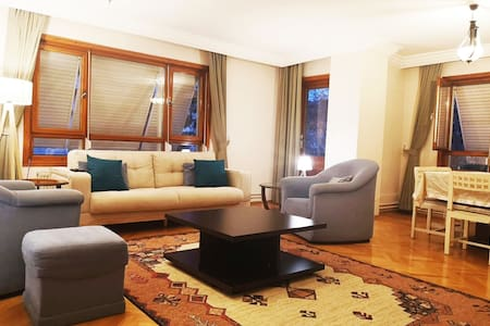 A large, comfortable flat in best area of Ankara