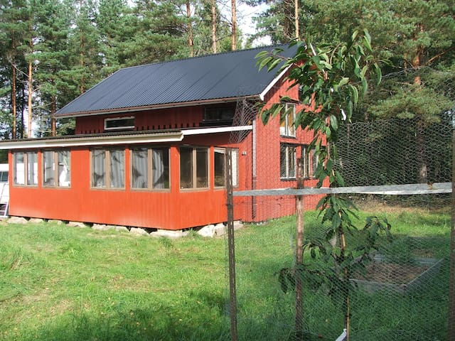 Swedish Rally house in forest - Sodra Skoga  - Houten huisje