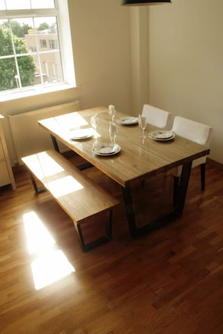 Dining space for a great start to a day