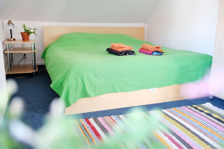 very comfortable double bed awaiting you