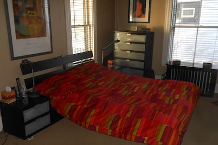 Two-room suite near Harvard Univ. with parking