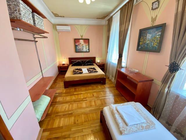 Гостевой д.ЛУЧ3/дАппартаменты с общ.душ,туа, кухня