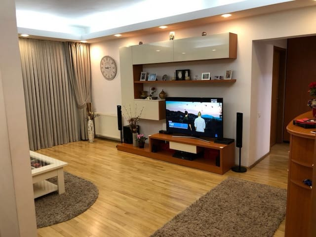 Quiet and spacious 1bedroom apartment in Bucharest
